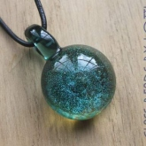 Sparkly-Green-pendant