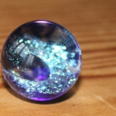 Sparkly-blue-marble