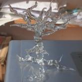 Hand-sculptured-glass-'Tree'