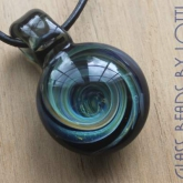 Blue-'Vortex'-style-pendant