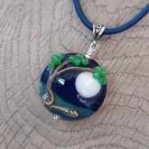 Windy tree bead necklace