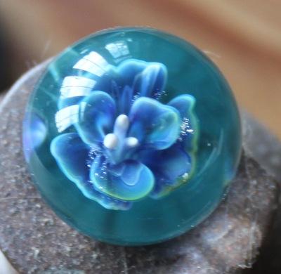 Blue-flower-marble