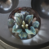Green-flower-marble